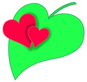 green valentine's day
