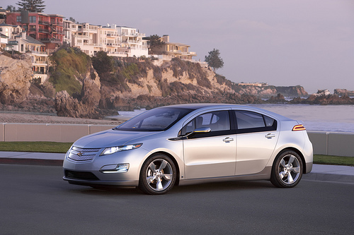Chevy Volt electric car