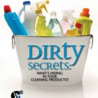 Dirty cleaning products
