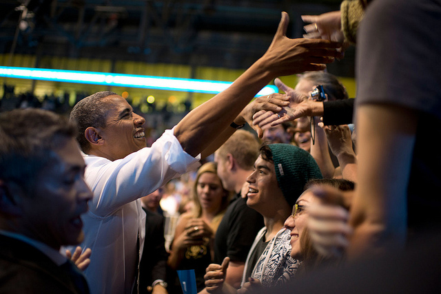 Obama green