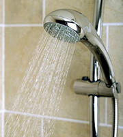 water sense shower