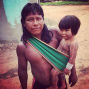 PURE kayapo child