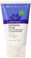 This scrub is naturally enriched with Ester-C, Olive, Aloe and Chamomile.