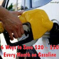 save on gas blog
