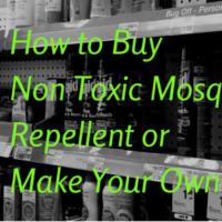 how to buy non toxic mosquito repellent