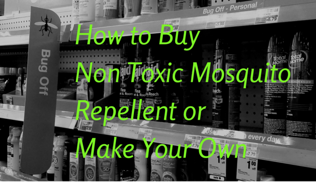 how to buy non toxic mosquito repellent