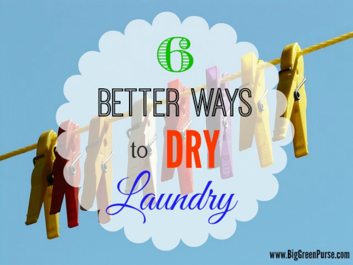 6 better ways to dry laundry