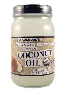 coconut oil trader joe
