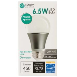 LED energy saving light bulb