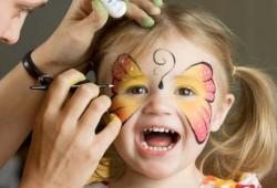 non-toxic Halloween face paint,