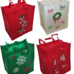 reusable holiday gift bags