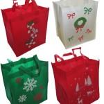 reusable holiday gift bags
