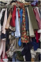 declutter closets
