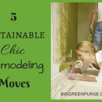 sustainable chic remodeling