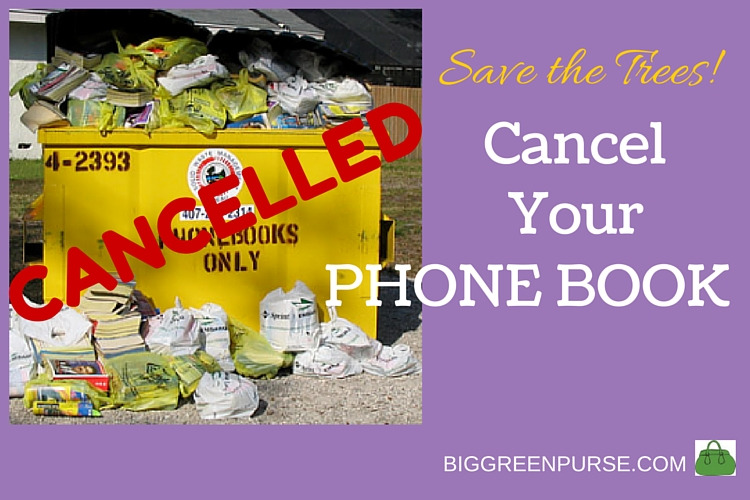 cancel your phone book