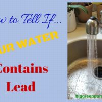 How to tell if your water contains lead
