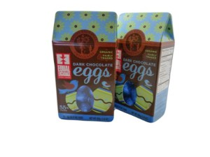organic chocolate Easter eggs