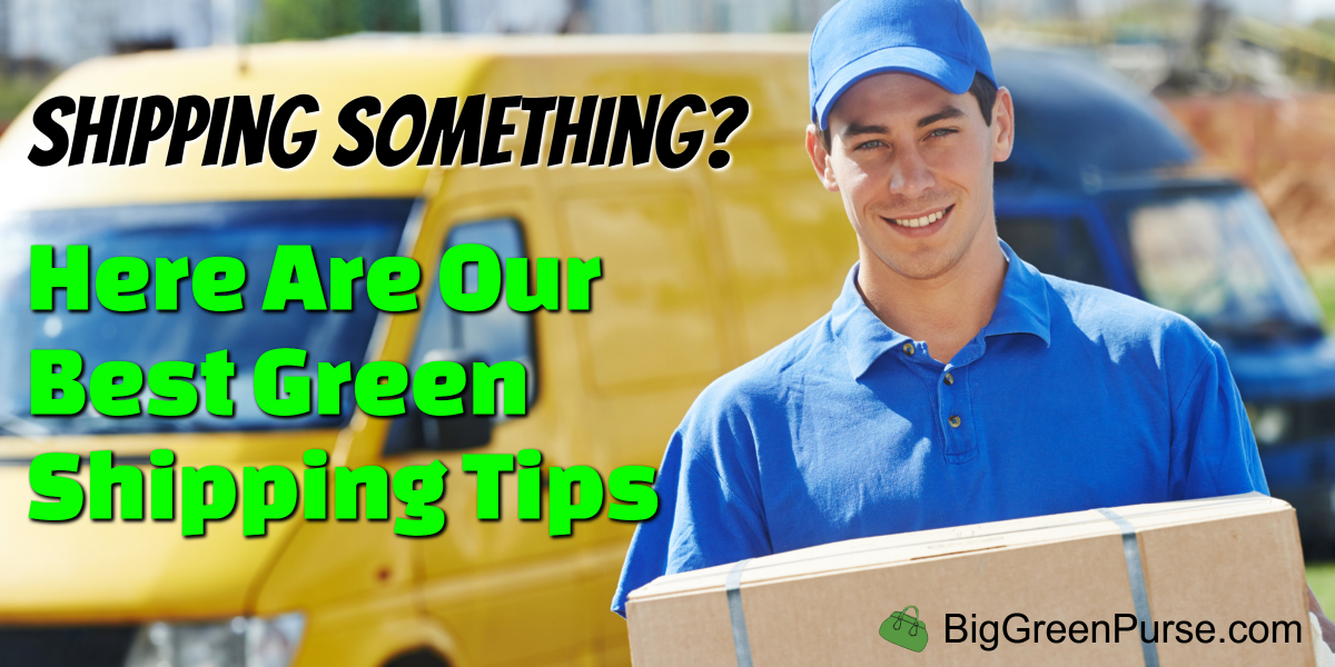 green shipping tips