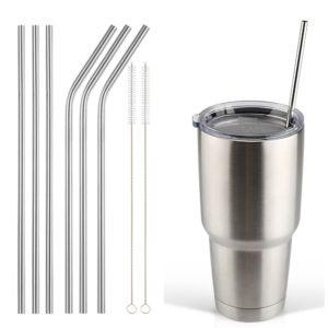plastic straws options