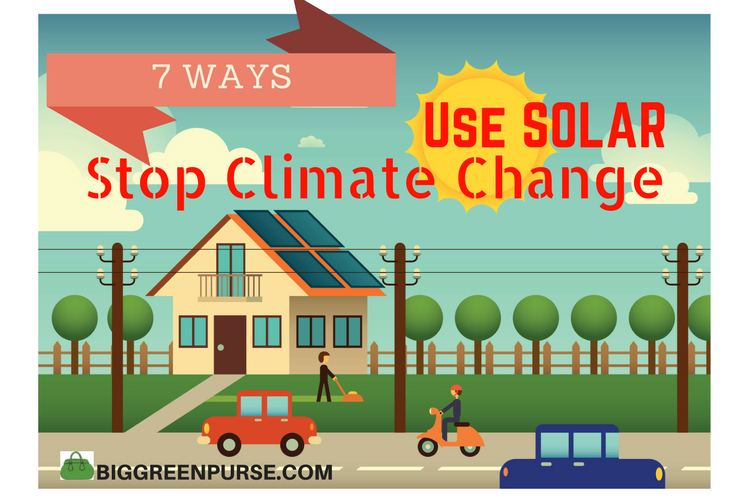 use solar to stop climate change
