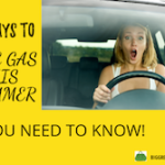 ways to save gas