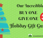 Buy One Give One Holiday Gift Guide